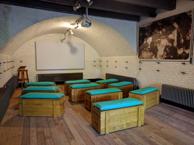 Fort Giessen meubilair bekleding